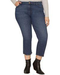 Sanctuary - Modern Crop Straight Leg Jeans - Lyst