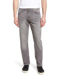 PAIGE - Normandie Straight Leg Jeans - Lyst