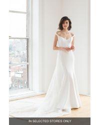Ines by Ines Di Santo - Maaike Off The Shoulder Wedding Dress - Lyst