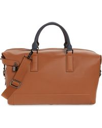 Ted Baker - Potts Leather Duffle Bag - Lyst