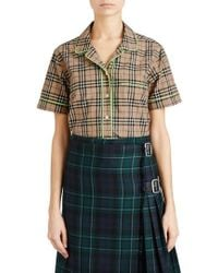 Burberry | Auklet Check Shirt | Lyst