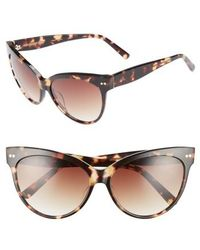 Chelsea28 - Audrey 60mm Cat Eye Sunglasses - - Lyst