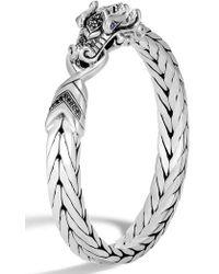 John Hardy - Men's Legends Naga Bracelet - Lyst