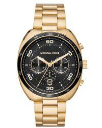 Michael Kors - Dane Chronograph Bracelet Watch - Lyst