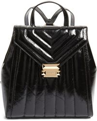 MICHAEL Michael Kors - Whitney Quilted Leather Backpack - - Lyst