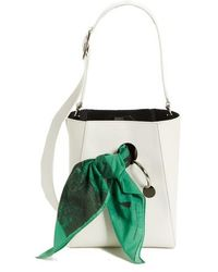 CALVIN KLEIN 205W39NYC - X Andy Warhol Foundation Small Bucket Bag With Bandana & Removable Pouch - Lyst