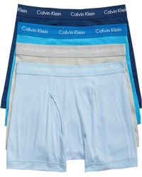Calvin Klein - Classic 4-pack Cotton Boxer Briefs, Red - Lyst