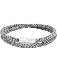 Tateossian - Rubber Cable Wrap Bracelet - Lyst