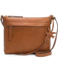 Frye - Carson Leather Crossbody Bag - Lyst