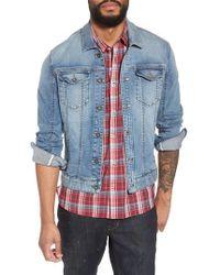John Varvatos | John Varvatos Star Usa Slim Fit Denim Trucker Jacket | Lyst