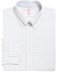 Brooks Brothers - Madison Classic Fit Check Dress Shirt (3 For $207) - Lyst
