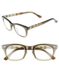 Corinne Mccormack - 'toni' 48mm Reading Glasses - Olive - Lyst