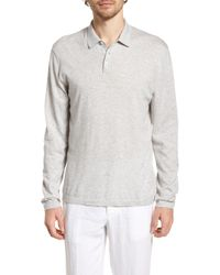 James Perse - Fine Gauge Regular Fit Cotton Polo - Lyst