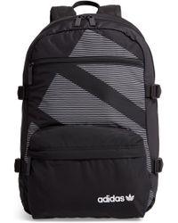 Lyst - adidas Originals Eqt Classic Backpack in Black for Men 8eee87205f3aa