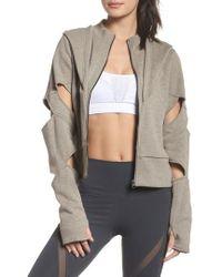Alo Yoga - Mix Hooded Jacket - Lyst