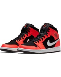 b4d3dbfda3b4e8 Lyst - Nike  air Jordan 1 Mid  Sneaker in Black for Men