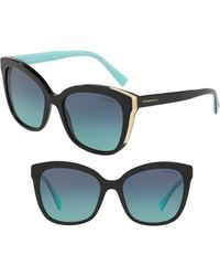 Tiffany & Co. - Diamond Point 55mm Gradient Square Sunglasses - Lyst
