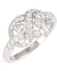 Kwiat - Diamond Knot Ring - Lyst