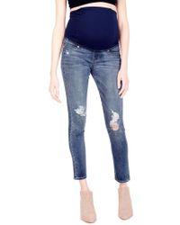 Ingrid & Isabel - Ingrid & Isabel Sasha Maternity Skinny Jeans With Crossover Panel(tm) - Lyst
