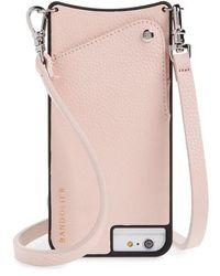 Bandolier - Emma Leather Iphone 6/7/8 & 6/7/8 Plus Crossbody Case - Lyst