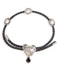 Alexander McQueen - Heart Friendship Bracelet - Lyst
