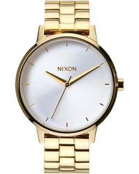 Nixon - 'the Kensington' Bracelet Watch - Lyst