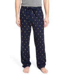 Ralph Lauren | Brushed Flannel Pajama Pants | Lyst
