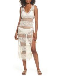 Pilyq - Joy Lace Cover-up Dress - Lyst
