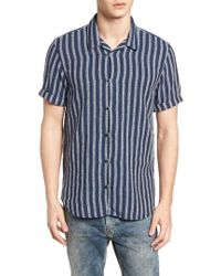 Scotch & Soda - Stripe Woven Shirt - Lyst