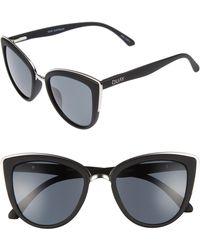 Quay - 'my Girl' 50mm Cat Eye Sunglasses - - Lyst