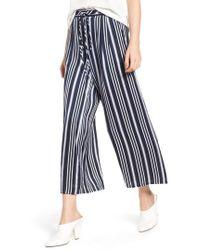 AG Jeans - Saunter Crop Wide Leg Pants - Lyst
