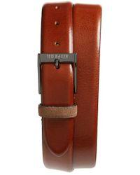 Ted Baker - Pests Leather Belt - Lyst