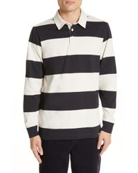 Norse Projects - Norse Project Ruben Stripe Rugby Polo - Lyst