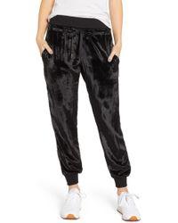 Hudson Jeans - Velvet Track Pants - Lyst