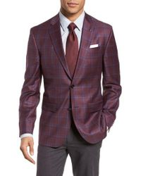 Ted Baker - Jay Trim Fit Plaid Wool Sport Coat - Lyst