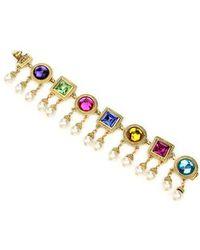 Ben-Amun - Multicolor Crystal Bracelet - Lyst