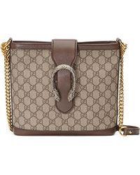 f19809c5d6d Gucci - Medium Dionysus Supreme Canvas Shoulder Bag - Lyst