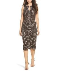 Pisarro Nights | Beaded Pencil Dress | Lyst