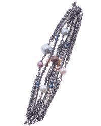 Nakamol - Freshwater Pearl Beaded Multistrand Bracelet - Lyst