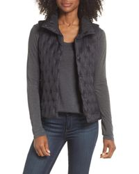 The North Face - Holladown Water Repellent 550-fill-power Down Crop Vest - Lyst