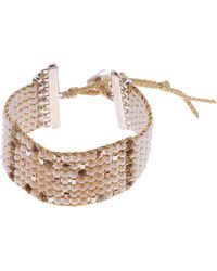 Nakamol - Beaded Cuff Bracelet - Lyst