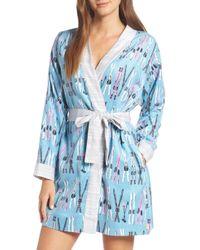 Munki Munki - Flannel Short Robe - Lyst