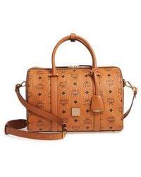 MCM - Essential Boston Bag - - Lyst