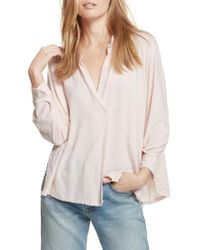 Free People - Free People Can't Fool Me Top - Lyst