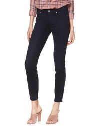 PAIGE - Transcend - Verdugo Ankle Skinny Jeans - Lyst