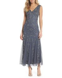Pisarro Nights - Beaded Godet Gown - Lyst