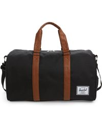 Lyst - Herschel Supply Co. Novel Duffle Weekend Bag in Black for Men fcfe4d0205b4f