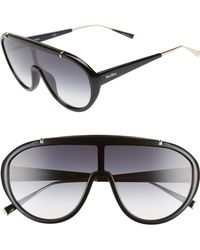 Max Mara - Wintry 133mm Shield Sunglasses - Lyst