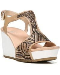 Dr. Scholls - 'original Collection Wiley' Wedge Sandal - Lyst