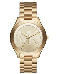 Michael Kors | Slim Runway Bracelet Watch | Lyst